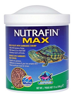 Alimento Para Tortugas Nutrafin Max Tortugas 340gr