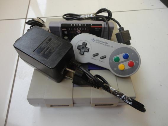 Console Super Nintendo Completo, Ultimate Mk3 + Brinde