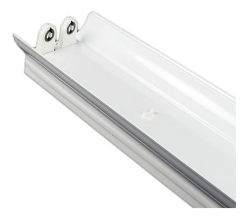 Lampara Led De Techo Doble Tubo T8 120cm Multivoltaje Hammer