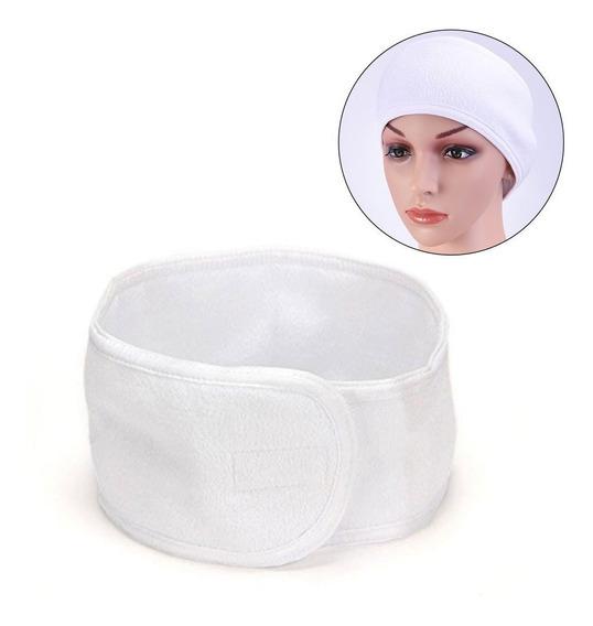 Diadema Cinta Para Baño Toalla Facial Spa Maquillaje 1 Pza