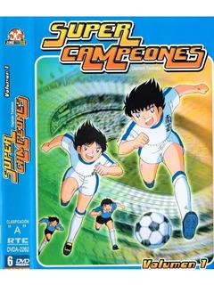 Dvd Super Campeones Vol. 1 Nuevo Original