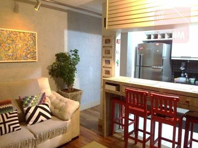 Apartamento Com 2 Dormitórios À Venda, 45 M² Por R$ 260.000 - Morumbi - São Paulo/sp - Ap23990