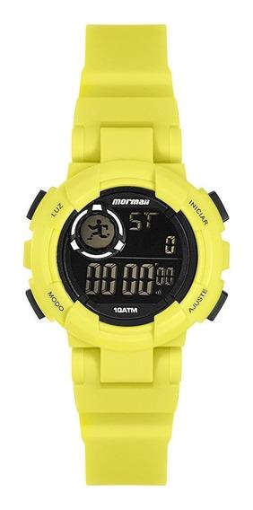Relógio Unissex Mormaii Nxt Digital Verde Limão