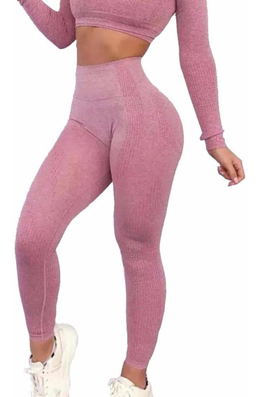 Leggins Mujer , Licra Colombiana Deportivos Ejercicio Moda