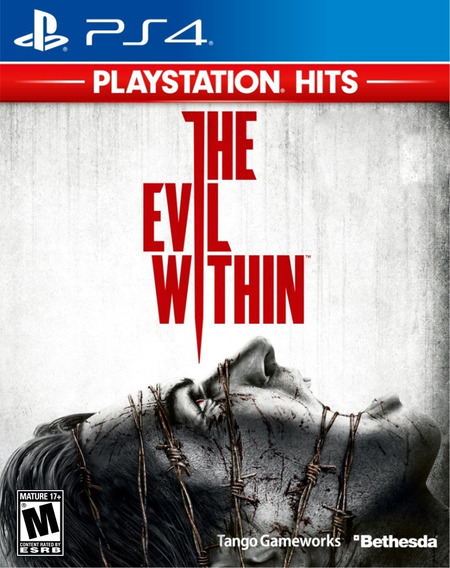 The Evil Within Para Ps4 Novo Lacrado Mídia Física