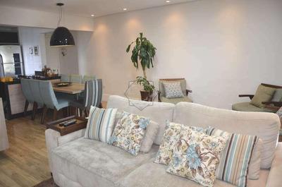 Apartamento Pronto, Decorado E Mobiliado Á Venda No Parque Barueri, Estuda Permuta - Ap0199