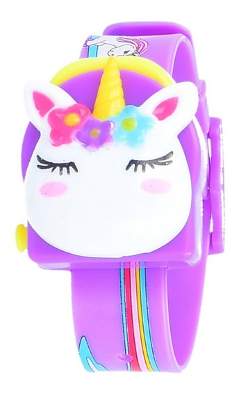 Reloj Unicornio Niñas Kawaii Arcoiris Mayoreo