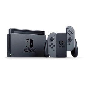 Nintendo Switch Com Três Jogos