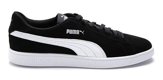 Puma Zapatillas Lifestyle Unisex Smash V2 Negro - Negro Fkr