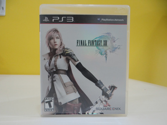 Final Fantasy Xiii - Ps3 - Completo!