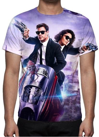 Camiseta Mib Homens De Preto Internacional 02