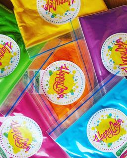 Polvos Holi De Colores - Paquete De 1000 Gramos