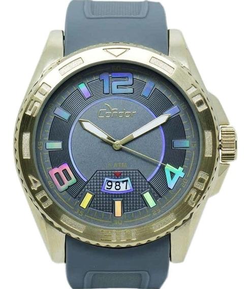 Relógio Masculino Condor Borracha
