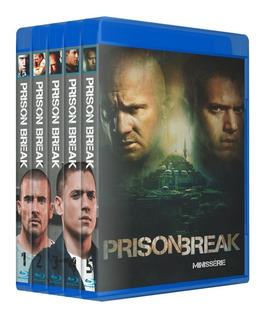 Prison Break - Serie Completa Em Bluray [ Dublado ]