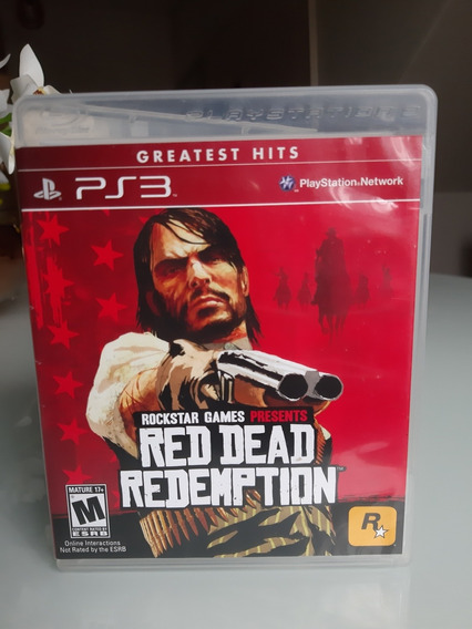 Red Dead Redemption Ps3 Midia Fisica