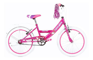 Bicicleta Cross Mega Full Rodado 20 Nena Nene Mujer La Mas Top De Todas !! Reforzada Cross Bmx - Happy Buy + Regalo !