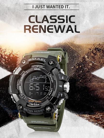Relógio Militar Smael Original G-shock Aprovad