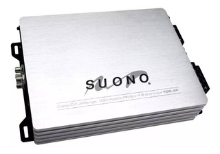 Amplificador Suono 100.4f 4 Canales, Clase D 640 Watts Msi