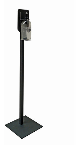 Pedestal Jessy Para Dispensador Gel Antibacterial Gun Metal