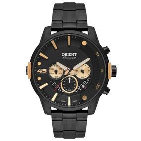 Relógio Masculino Orient Cronógrafo Mpssc013/p2px - Preto
