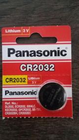 Bateria Panasonic Cr2032 Lithium Battery 3v - Made Indonésia