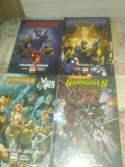 Guardiões Da Galáxia 4 Encadernados Nova Marvel