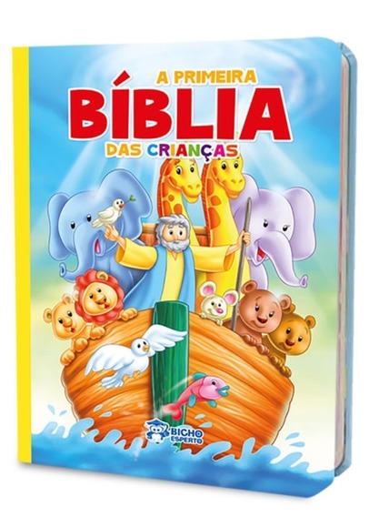 Bíblia Infantil Ilustrada Menino E Menina + Brinde