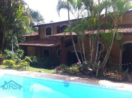 Imagem 1 de 14 de Chácara Recanto Verde Com 4 Dormitórios À Venda, 1200 M² Por R$ 950.000 - Chácara Recanto Verde - Cotia/sp - Ch0007