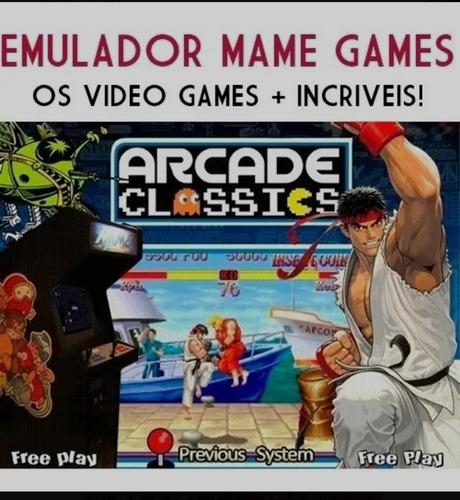 Imagem 1 de 1 de Multi Jogos Retrô Para Pc , Mais De 6 Mil Jogos
