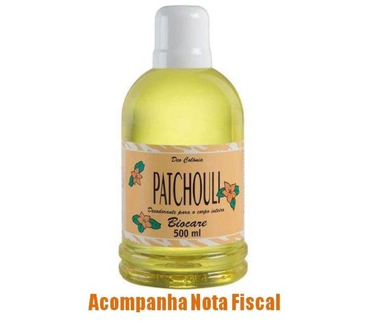 Colônia Patchouli 500ml - Envio Rápido