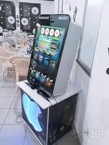 Jukebox Máquina De Musica E Karaokê Moderna 2 Em 1