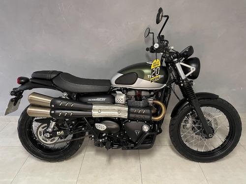 Street Scrambler 900cc (2019/2020) Verde Fosco