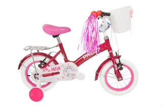Bicicleta Philco De Niña Patio Rodado 12