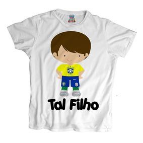 Camiseta Tal Filho Seleção Brasileira Copa 2018 Brasil