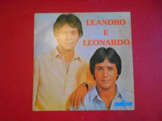 Lp - Leandro & Leonardo - A Construção - Primeiro Disco