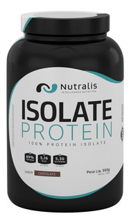 Whey Protein Isolate Protein 900g Chocolate - Nutralis