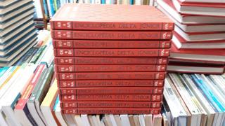 Enciclopédia Delta Júnior Completa Com 12 Volumes De 1977*