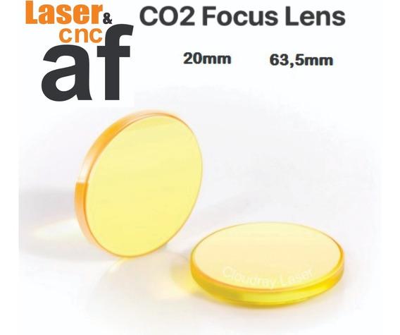 Lente Para Máquina Laser (usa Cvd Znse) 20mm 63,5mm