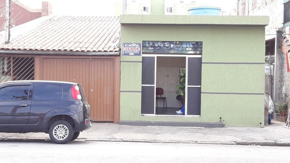 Terreno Com 5 Casas E 2 Salões Para Renda A 5min. Do Metro Itaquera. - Te1526