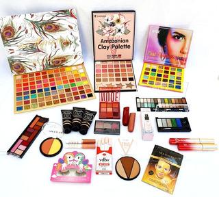 Lote Cosméticos Sombras Labiales Maquillajes + Envío Gratis