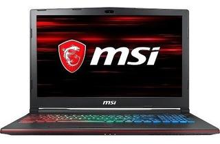 Notebook Gamer Msi Leopard I7 16gb 1tb+256ssd Gtx1050ti 15,6