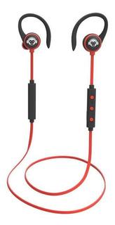 Moonki Auricular Deportivo Bluetooth Rojo Mh-h616bt