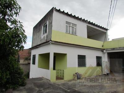 Casa Para Venda Em Duque De Caxias, Vila Leopoldina, 4 Dormitórios, 2 Banheiros - 0479