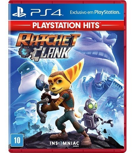 Game Ratchet & Clank Ps4 Midia Física Lacrado