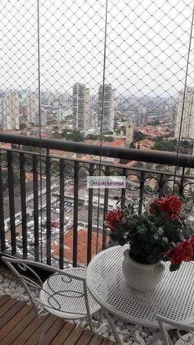 Apartamento Com 3 Dormitórios À Venda, 100 M² - Ipiranga - São Paulo/sp - Ap3759