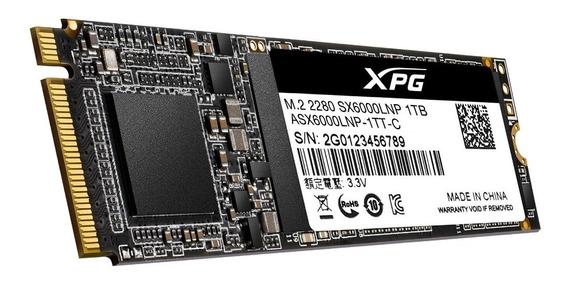 Hd Ssd M.2 2280 Adata Xpg Sx6000 Lite 1tb Pci-e X4 Lacrado