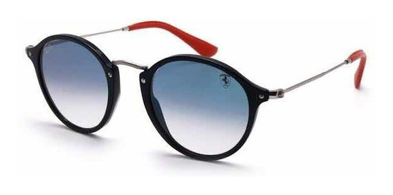 Óculos Ray-ban Ferrari Round Flack Masculino / Feminino
