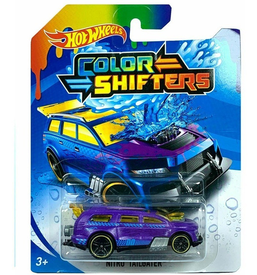 Hot Wheels Shifters Auto Cambia De Color Modelos Surtidos