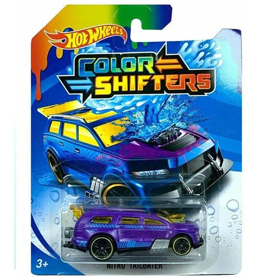 Hot Wheels Shifters Auto Cambia De Color Modelos Surtidos