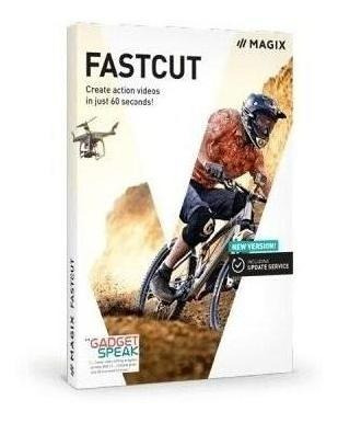 Editor De Video Magix Fastcut Plus Licencia Original Full